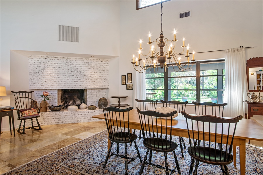 Real Estate Photography - 1818 Princess Ct, Naples, FL, 34110 - Dining Room