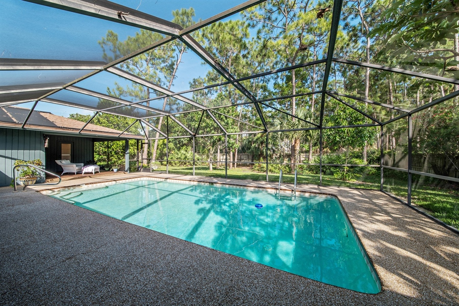 Real Estate Photography - 1818 Princess Ct, Naples, FL, 34110 - Pool