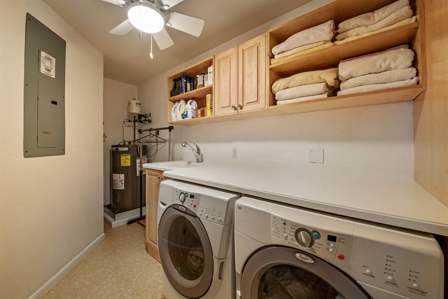 Real Estate Photography - 1818 Princess Ct, Naples, FL, 34110 - Laundry Room