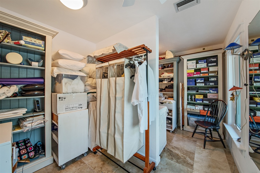 Real Estate Photography - 1818 Princess Ct, Naples, FL, 34110 - Master Bedroom Closet
