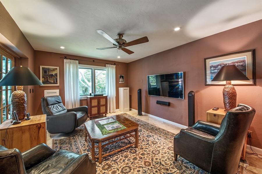 Real Estate Photography - 1818 Princess Ct, Naples, FL, 34110 - Den