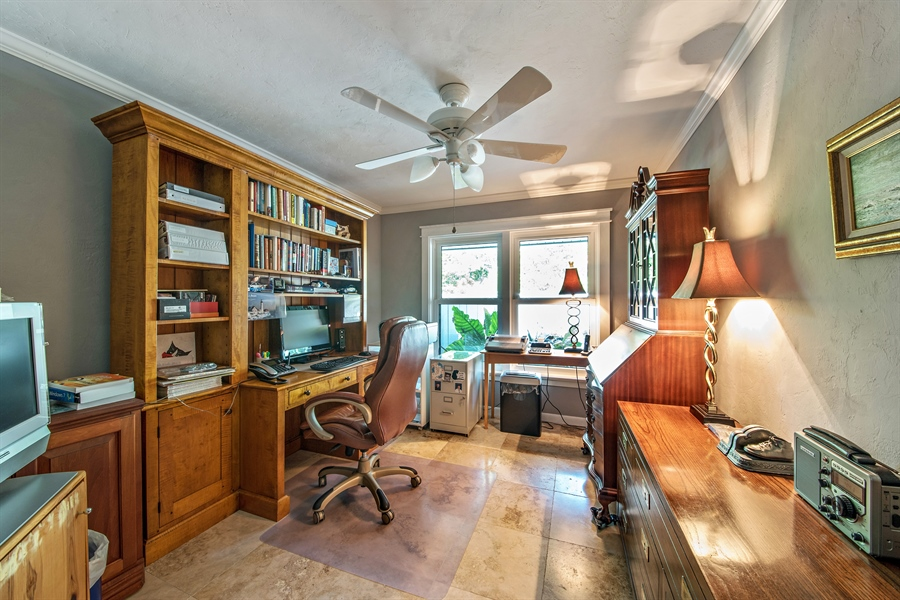 Real Estate Photography - 1818 Princess Ct, Naples, FL, 34110 - Office