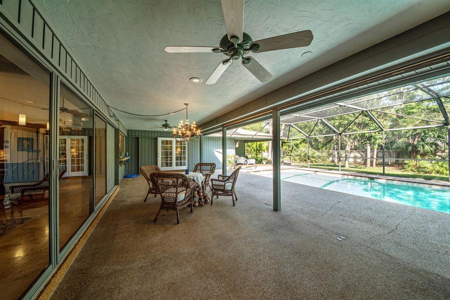 Real Estate Photography - 1818 Princess Ct, Naples, FL, 34110 - Lanai