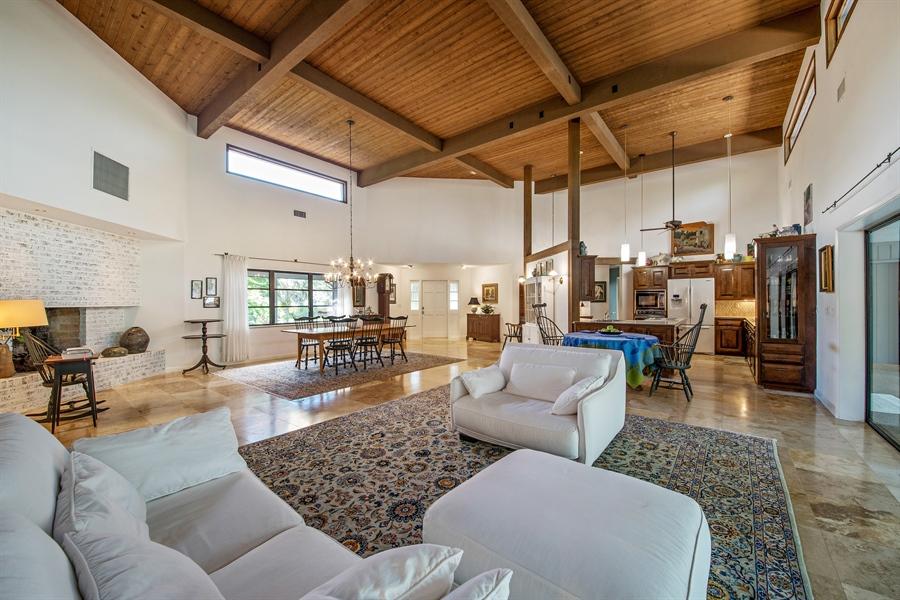 Real Estate Photography - 1818 Princess Ct, Naples, FL, 34110 - Kitchen / Living Room