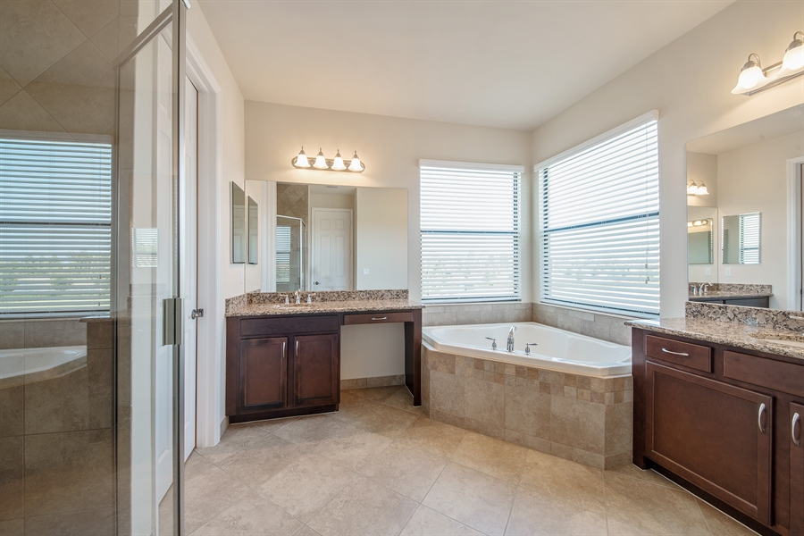 Real Estate Photography - 3599 Beaufort Ct, Naples, FL, 34119 - Master Bathroom
