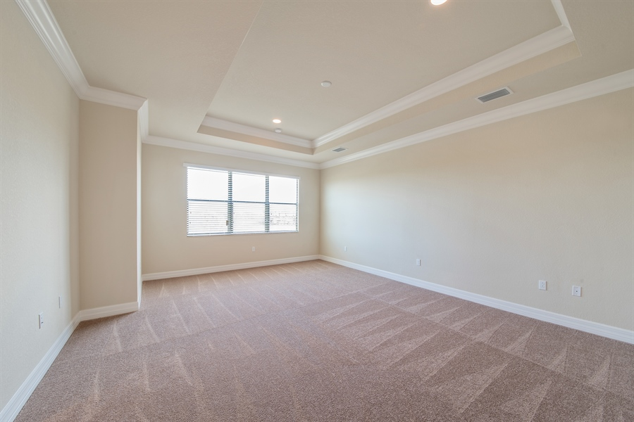Real Estate Photography - 3599 Beaufort Ct, Naples, FL, 34119 - Master Bedroom