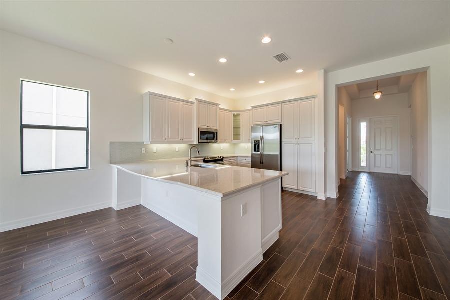 Real Estate Photography - 3510 Sungari Ct, Naples, FL, 34119 - Kitchen