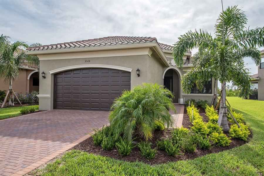 Real Estate Photography - 3510 Sungari Ct, Naples, FL, 34119 - Front View