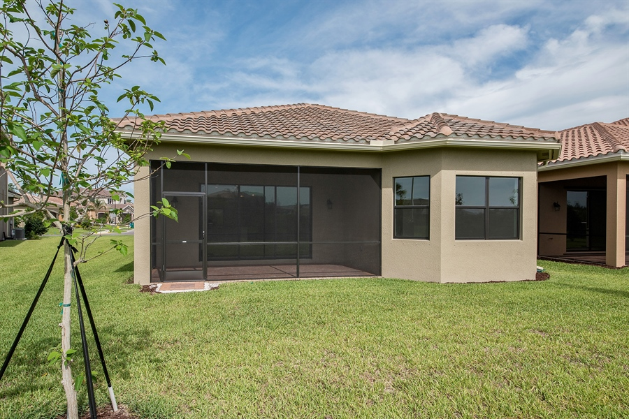 Real Estate Photography - 3510 Sungari Ct, Naples, FL, 34119 - Rear View
