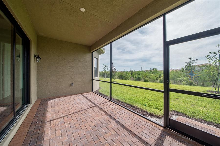 Real Estate Photography - 3510 Sungari Ct, Naples, FL, 34119 - Lanai