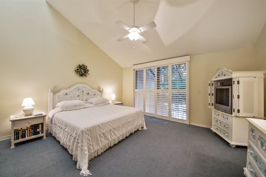 Real Estate Photography - 344 edgemere way north, naples, FL, 34105 - Master Bedroom