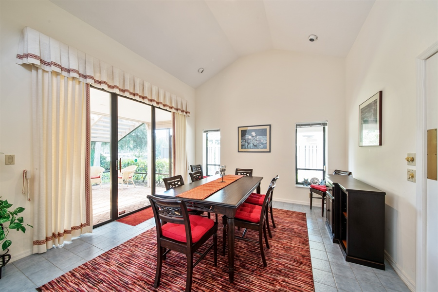 Real Estate Photography - 344 edgemere way north, naples, FL, 34105 - Dining Room