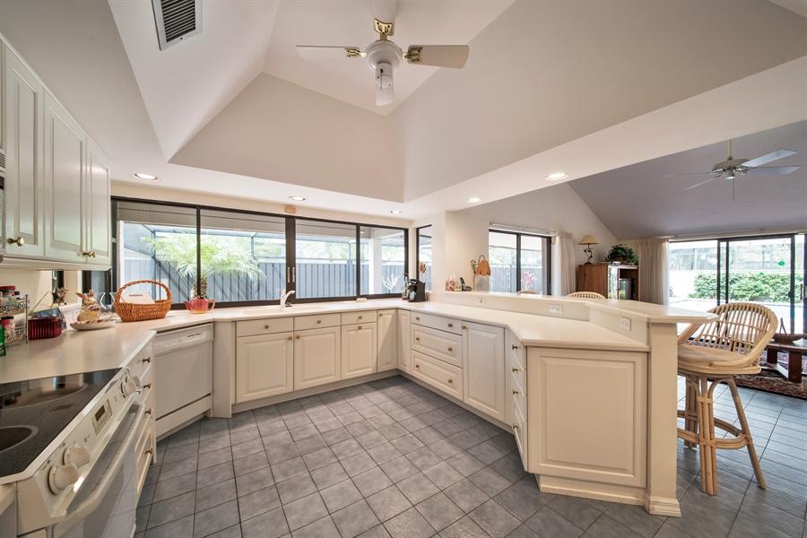 Real Estate Photography - 344 edgemere way north, naples, FL, 34105 - Kitchen