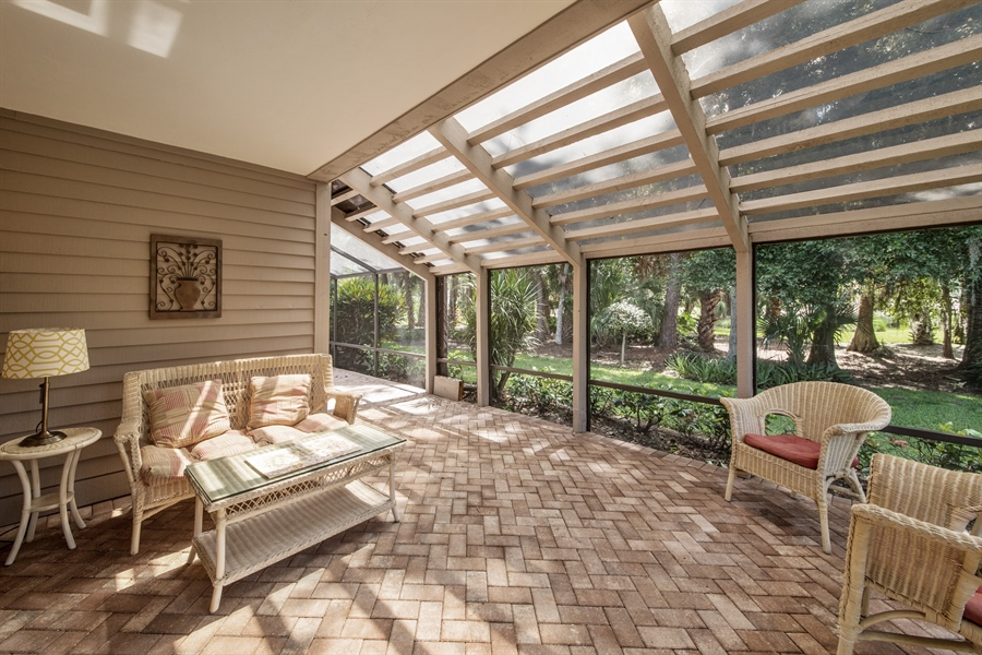 Real Estate Photography - 344 edgemere way north, naples, FL, 34105 - Lanai