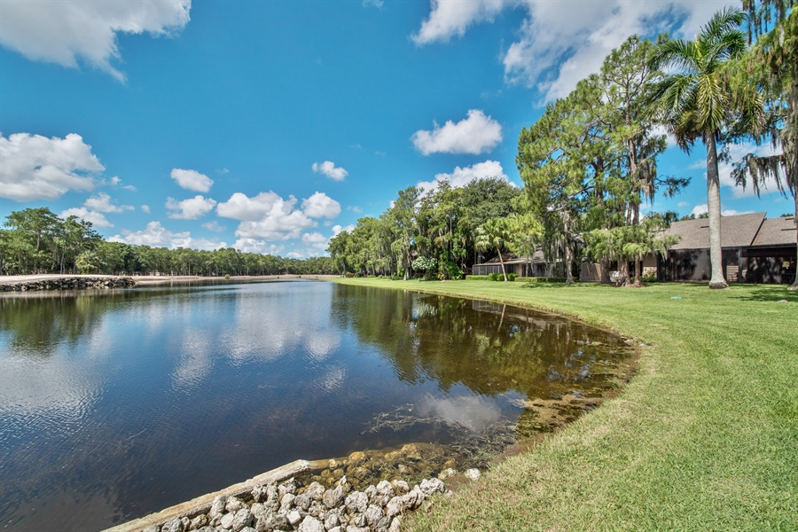 Real Estate Photography - 344 edgemere way north, naples, FL, 34105 - Lake View