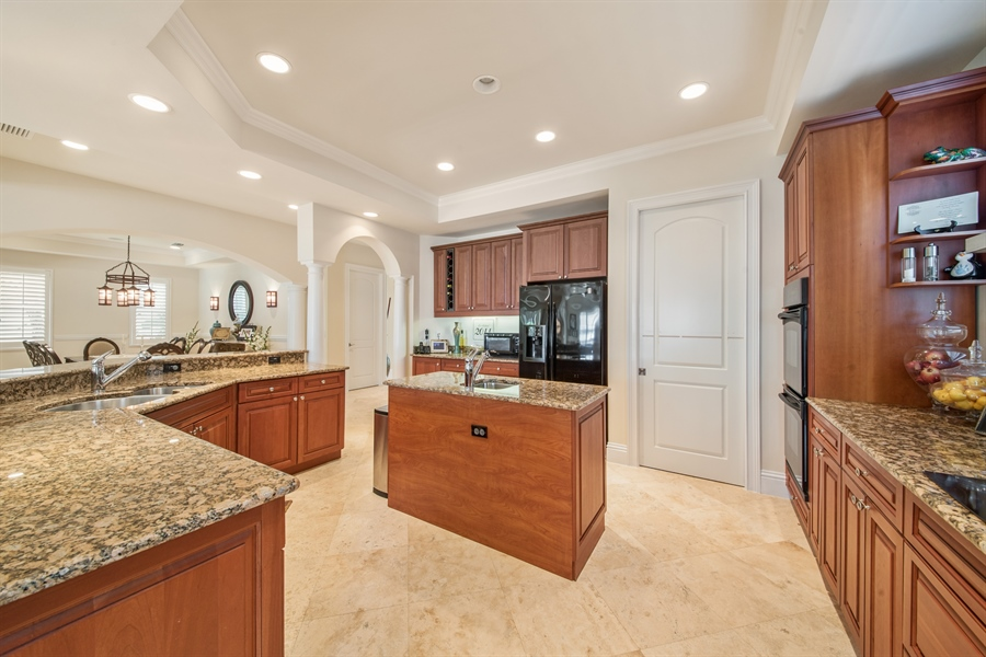 Real Estate Photography - 2853 COCO LAKES CT, NAPLES, FL, 34105 - Kitchen
