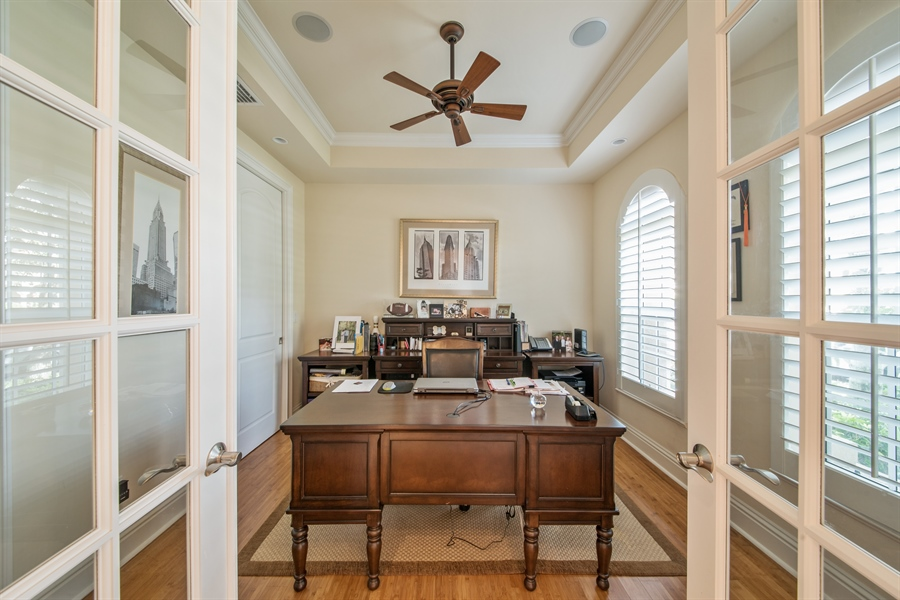 Real Estate Photography - 2853 COCO LAKES CT, NAPLES, FL, 34105 - Office
