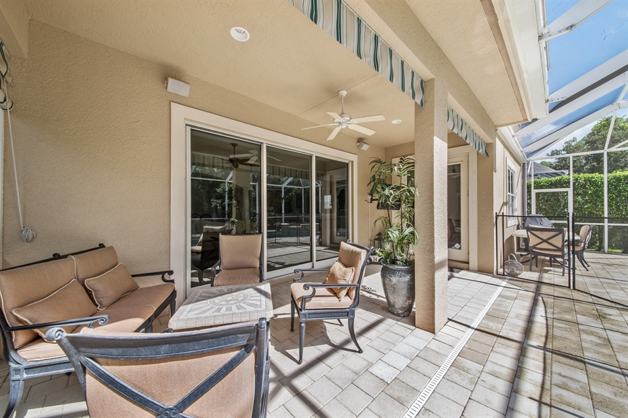 Real Estate Photography - 2853 COCO LAKES CT, NAPLES, FL, 34105 - Lanai