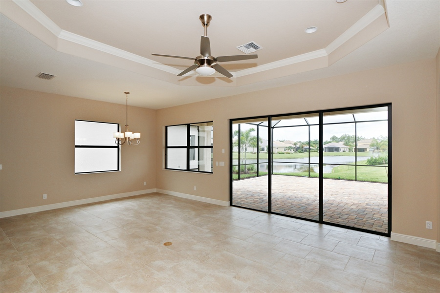 Real Estate Photography - 1509 Serrano Cir, Naples, FL, 34105 - Living Room