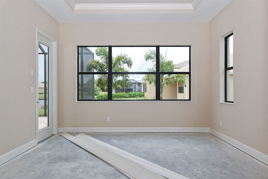 Real Estate Photography - 1509 Serrano Cir, Naples, FL, 34105 - Master Bedroom