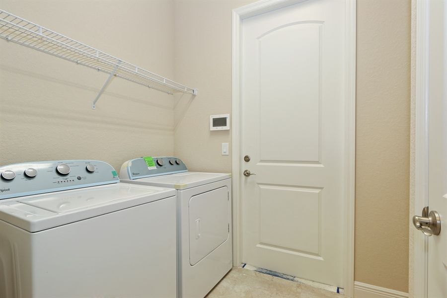 Real Estate Photography - 1509 Serrano Cir, Naples, FL, 34105 - Laundry Room