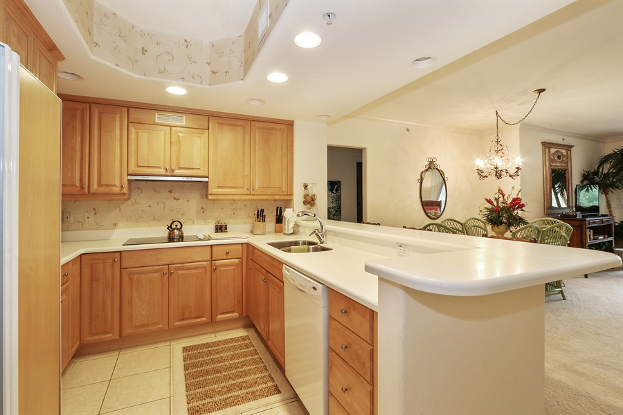 Real Estate Photography - 2738 TIBURON BLVD E, B-204, Naples, FL, 34109 - Kitchen