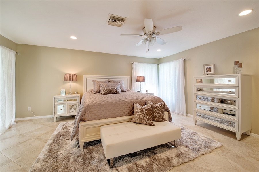 Real Estate Photography - 2666 Outrigger Ln, Naples, FL, 34104 - Master Bedroom