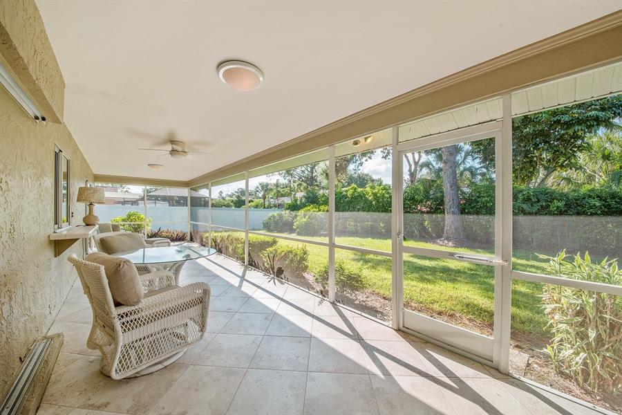 Real Estate Photography - 2666 Outrigger Ln, Naples, FL, 34104 - Lanai