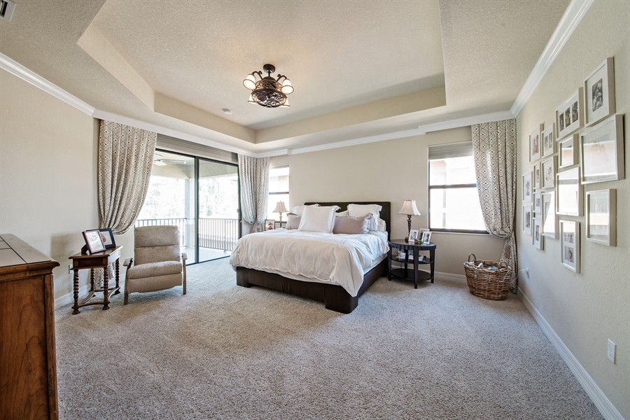 Real Estate Photography - 3359 Pacific Dr, Naples, FL, 34119 - Master Bedroom