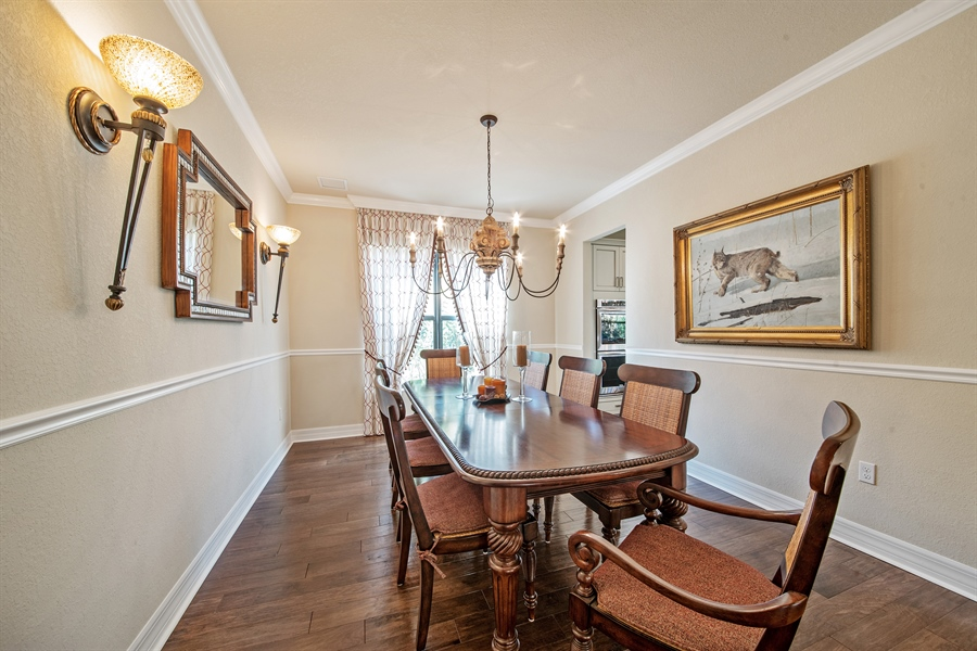 Real Estate Photography - 3359 Pacific Dr, Naples, FL, 34119 - Dining Room