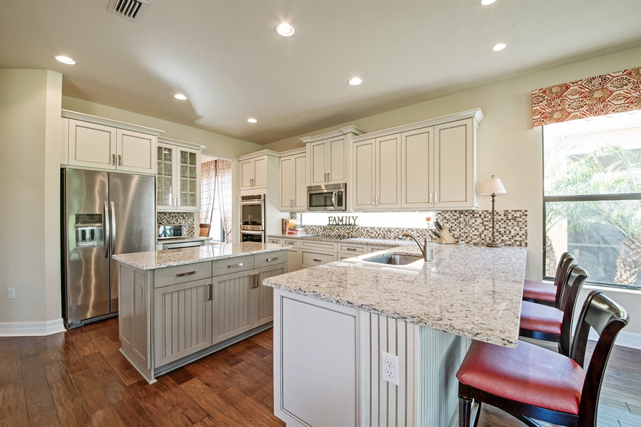 Real Estate Photography - 3359 Pacific Dr, Naples, FL, 34119 - Kitchen
