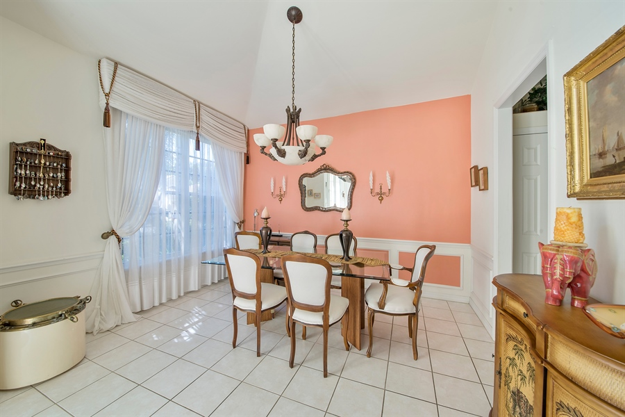Real Estate Photography - 8829 Ventura Way, Naples, FL, 34109 - Dining Room