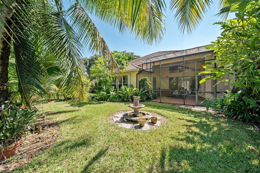 Real Estate Photography - 8829 Ventura Way, Naples, FL, 34109 - Rear View
