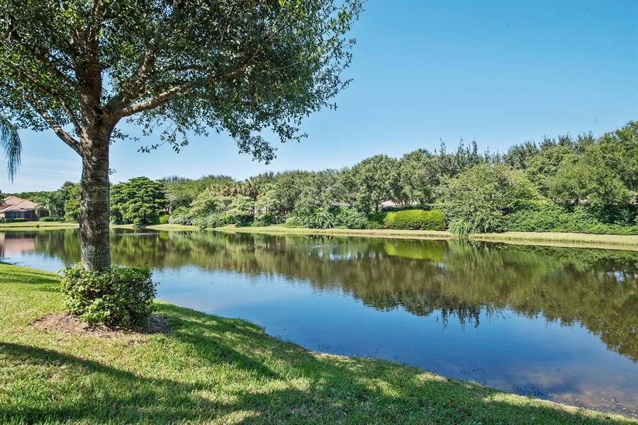 Real Estate Photography - 8829 Ventura Way, Naples, FL, 34109 - Lake View
