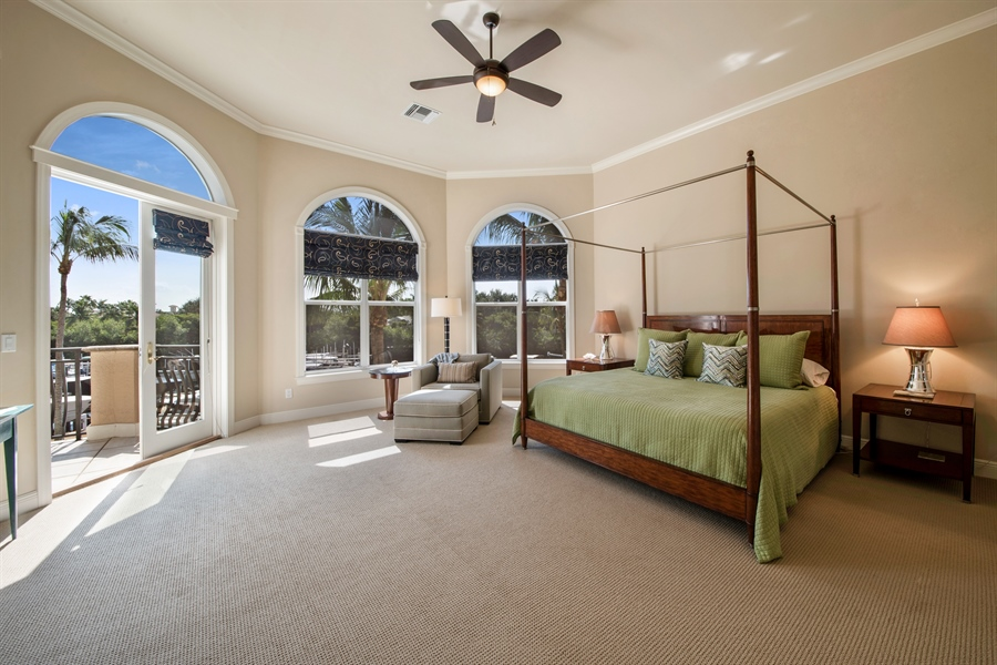 Real Estate Photography - 27640 Marina Isle Ct, Bonita Springs, FL, 34134 - Master Bedroom