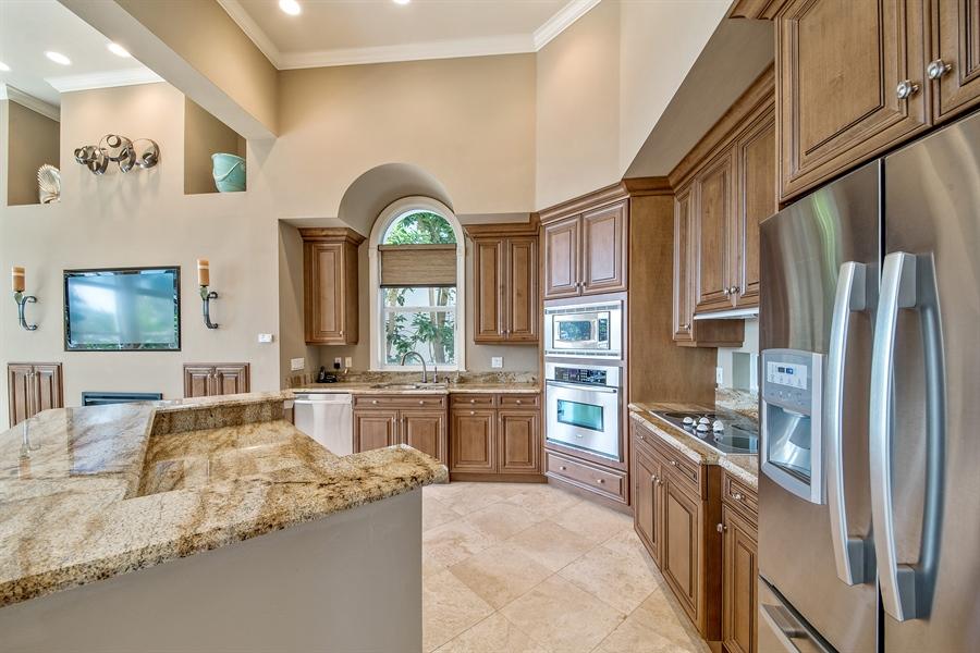 Real Estate Photography - 27640 Marina Isle Ct, Bonita Springs, FL, 34134 - Kitchen