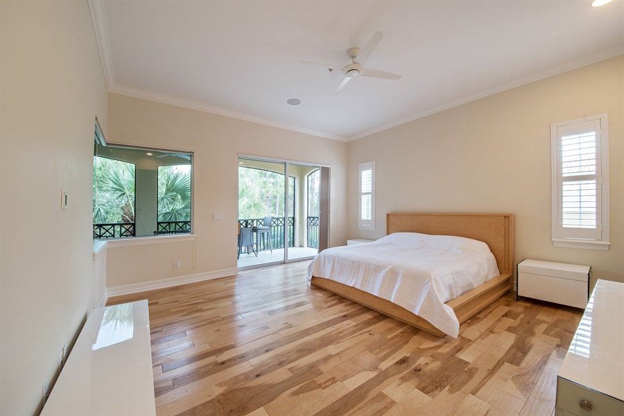 Real Estate Photography - 2850 Tiburon Blvd, 103, Naples, FL, 34109 - Master Bedroom