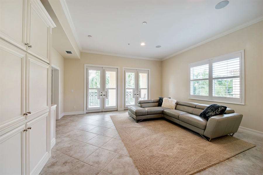 Real Estate Photography - 2850 Tiburon Blvd, 103, Naples, FL, 34109 - Family Room