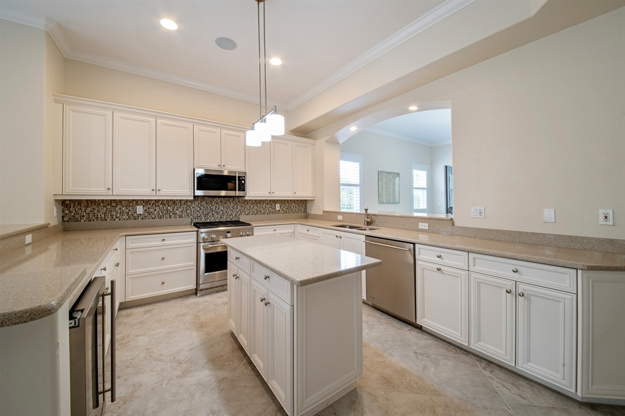 Real Estate Photography - 2850 Tiburon Blvd, 103, Naples, FL, 34109 - Kitchen