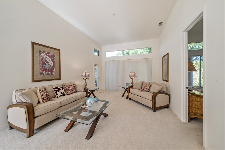 Real Estate Photography - 28526 Highgate Drive, Bonita Springs, FL, 34135 - Living Room