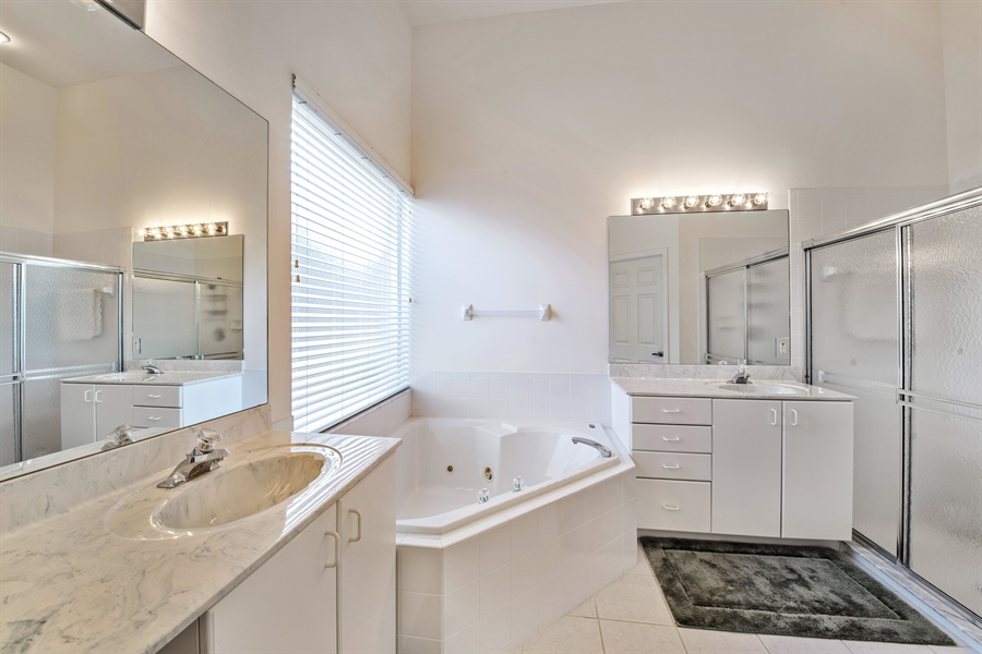 Real Estate Photography - 28526 Highgate Drive, Bonita Springs, FL, 34135 - Master Bathroom