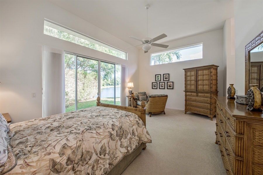 Real Estate Photography - 28526 Highgate Drive, Bonita Springs, FL, 34135 - Master Bedroom