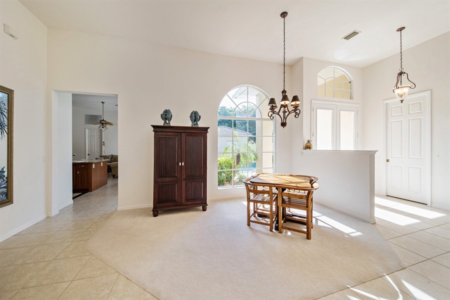 Real Estate Photography - 28526 Highgate Drive, Bonita Springs, FL, 34135 - Dining Room