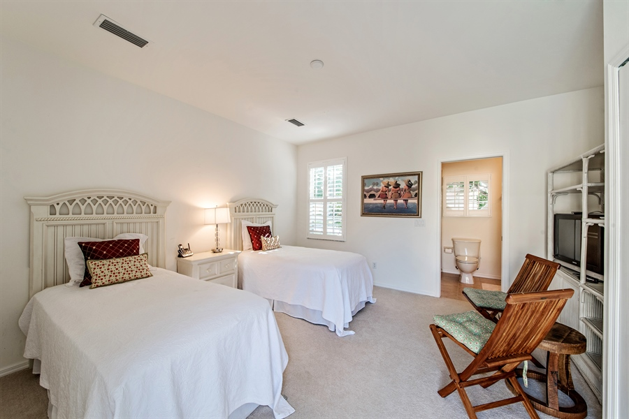 Real Estate Photography - 28526 Highgate Drive, Bonita Springs, FL, 34135 - Cabana Bedroom