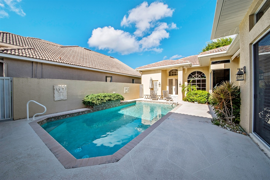 Real Estate Photography - 28526 Highgate Drive, Bonita Springs, FL, 34135 - Pool