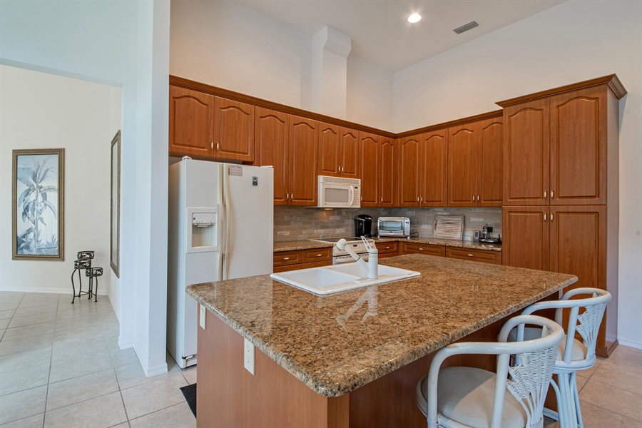 Real Estate Photography - 28526 Highgate Drive, Bonita Springs, FL, 34135 - Kitchen
