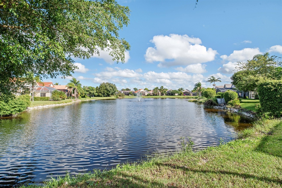 Real Estate Photography - 28526 Highgate Drive, Bonita Springs, FL, 34135 - Lake View