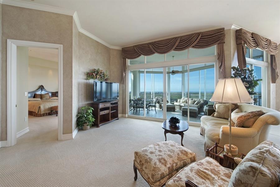 Real Estate Photography - 4801 Island Pond Ct, 1202, Bonita Springs, FL, 34134 - Living Room