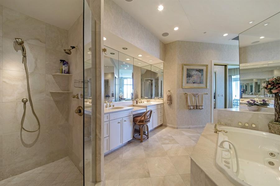 Real Estate Photography - 4801 Island Pond Ct, 1202, Bonita Springs, FL, 34134 - Master Bathroom