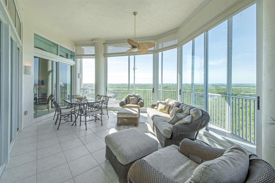 Real Estate Photography - 4801 Island Pond Ct, 1202, Bonita Springs, FL, 34134 - Lanai2